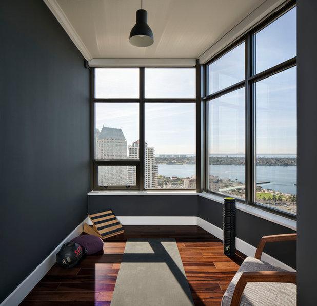 Contemporary Home Gym by CM Natural Designs