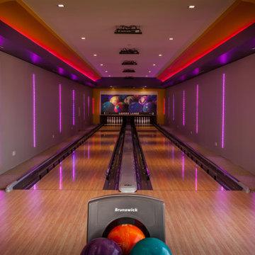 Sleek Indoor Bowling Alley