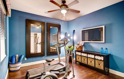 Shop Houzz: The Fitness-Friendly Home Gym