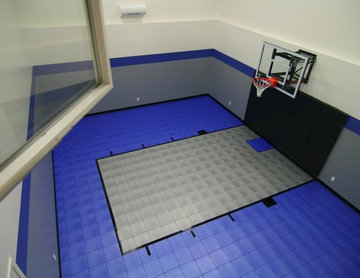 SnapSports® Indoor Home Sport Gym and Basketball Court