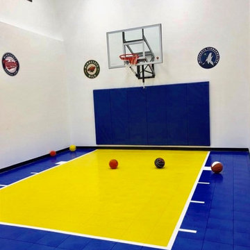SNAPSPORTS HOME GYM AND COURT - MInnesota