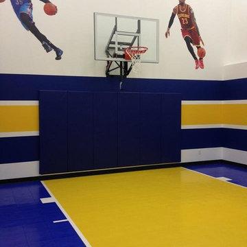SnapSports Indoor athletic flooring