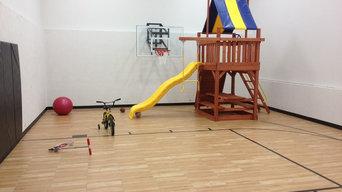 SnapSports Indoor Mutli-Use Home Court / Gym