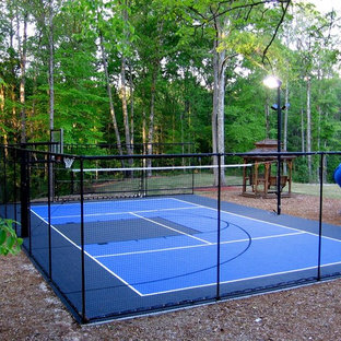 SnapSports outdoor basketball courts