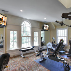 Traditional Home Gym by Country Club Homes