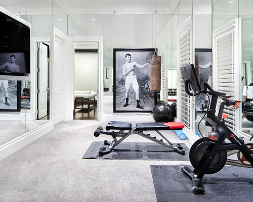 Home Weight Room Design Ideas Pictures Remodel Amp Decor