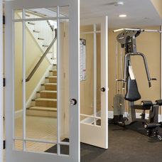 Home Gym by Sandy Spring Builders