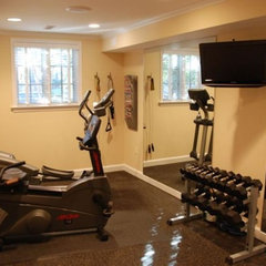 traditional home gym by InSite Builders, LLC