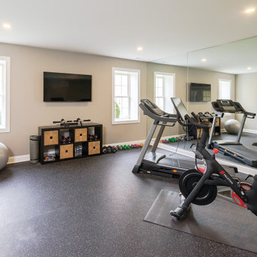 Sports Lover's Dream Basement in West Chester, PA