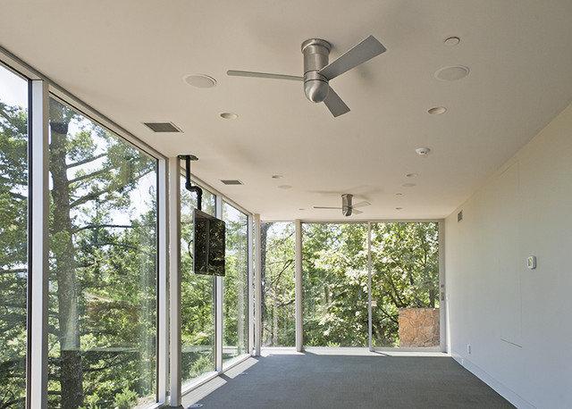 Modern Home Gym by R. D. Sherrill