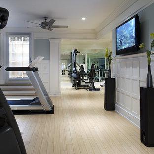 Klassischer Fitnessraum in Philadelphia