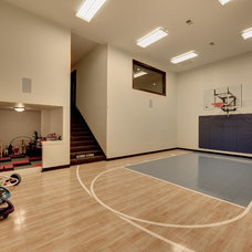 Traditional Home Gym by Spacecrafting / Architectural Photography
