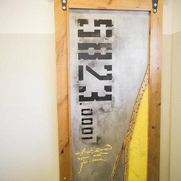 Sub Forest Barn Door