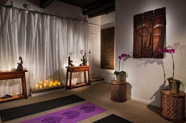 Asian Home Gym by FLO Design Studio
