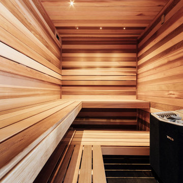 Swedish Sauna Destination Living Aberfeldie Project