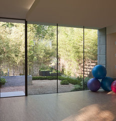 contemporary home gym by Webber + Studio, Architects
