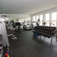 Modern Home Gym by Cantoni Dallas