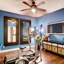 Traditional Home Gym by Oakwood Homes