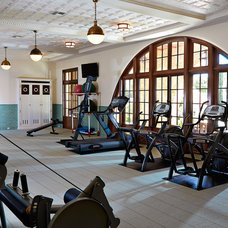 Traditional Home Gym by Alvarez Homes