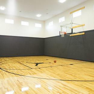 Moderner Fitnessraum in Boise
