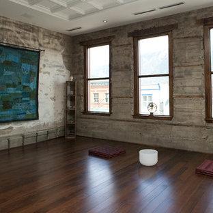 75 Trendy Eclectic Home Yoga Studio Design Ideas - Pictures of ...