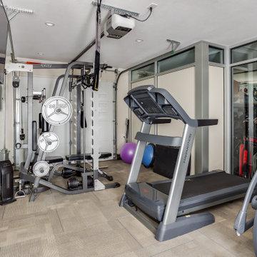 Third Car Garage Home Gym