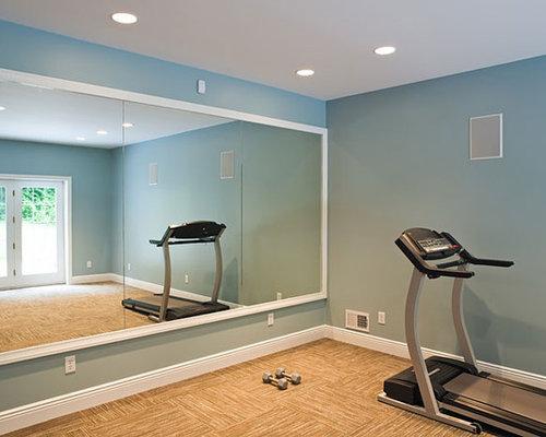 Ideas para gimnasios dise os de gimnasios con paredes azules - Gimnasio paredes ...