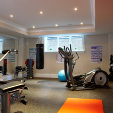 Traditional Home Gym by PCM Inc.