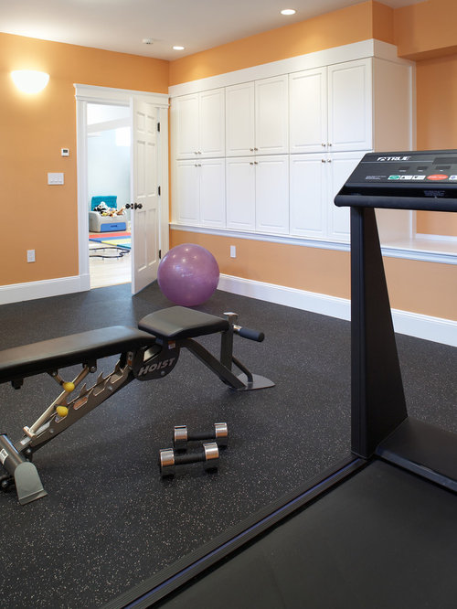 Home Gym   Traditional Home Gym Idea In Boston