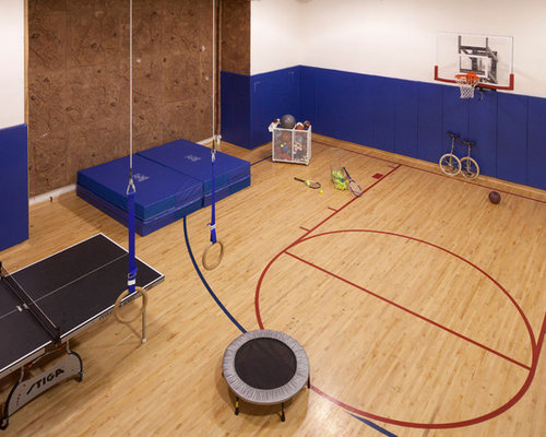 Multi sport game court ideas pictures remodel and decor