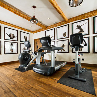 75 most popular traditional home gym design ideas for 2018