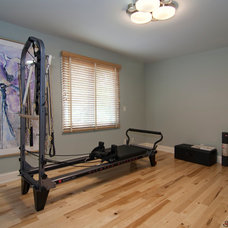 Traditional Home Gym by Schrader & Companies
