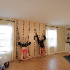 Traditional Home Gym Traditional Home Gym