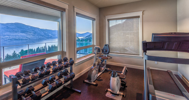 Traditional Home Gym by Ironwood Residential Design
