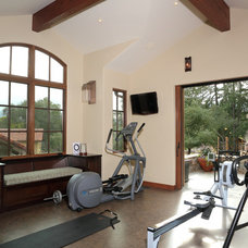 Mediterranean Home Gym by Century Stereo