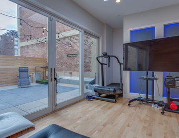 Two Level Condo Renovation with Roof Deck