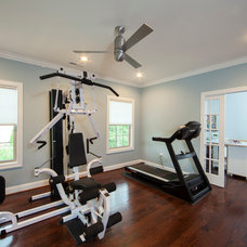 Traditional Home Gym by Jim Schmid Photography