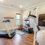 Personal Resort Transitional Home Gym Chicago By