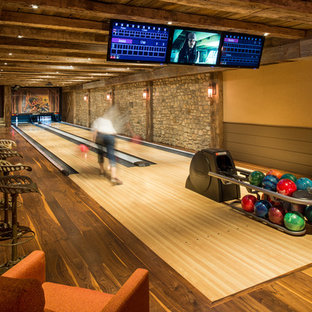 Reclaimed Bowling Alley Floor Houzz