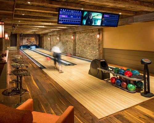 Home Bowling Alley Houzz