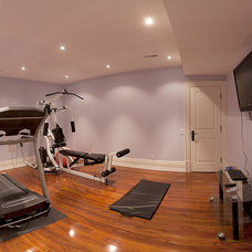 Traditional Home Gym by HUSH