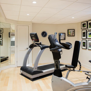 75 most popular boston home gym design ideas for 2019