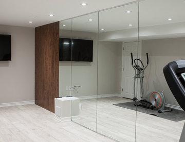 Whitby Modern Basement Bar and Gym