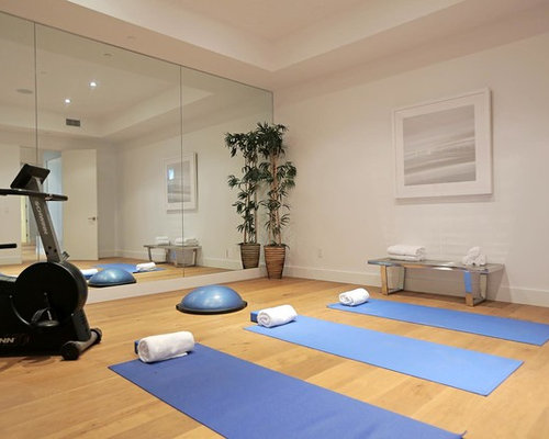 Modern Home Yoga Studio Design Ideas Renovations Photos