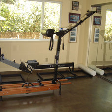 Contemporary Home Gym by Susan M. Davis