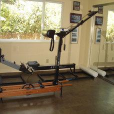 Contemporary Home Gym by Susan M. Davis