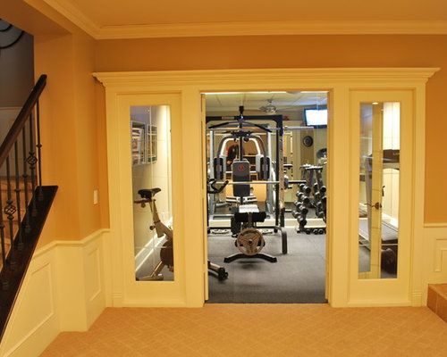Home Gym Design Ideas Basement: Detroit Home Gym Design Ideas, Pictures, Remodel & Decor
