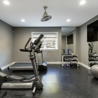 Work Out Studio – Edina Home Transformed Inside and Out