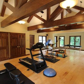 Workout Room Storage