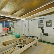 Modern Home Gym by ParadigmLED